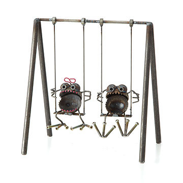 Gnome-Be-Gone Swing Set