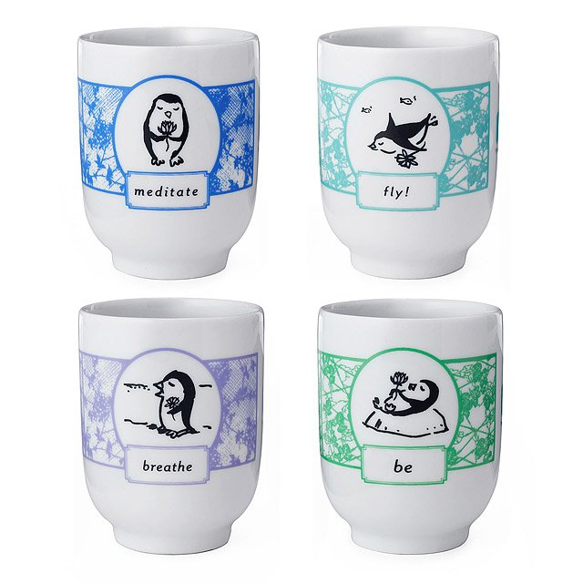 Zenguin Cups - Set of 4