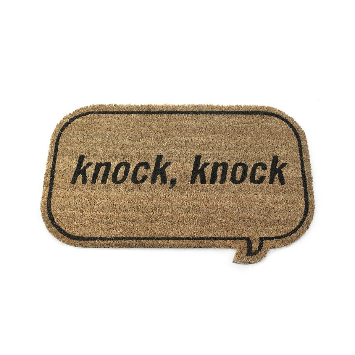 Knock Knock Doormat | Knock-Knock, Knocks, Door, Mats, Welcome ...