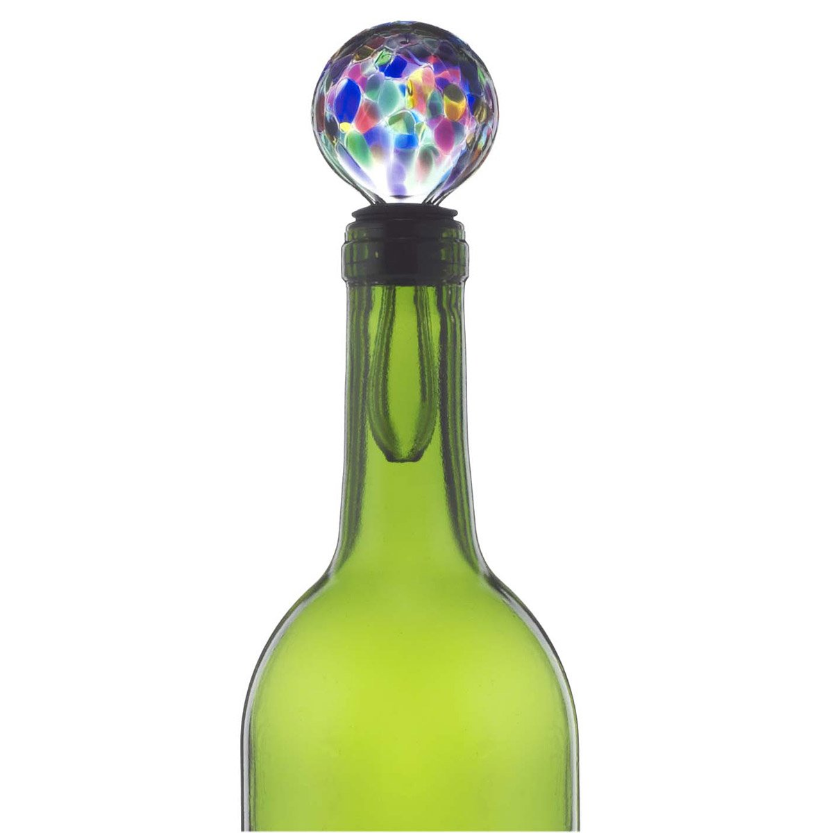 Glass Wine Stopper | Colorful, Wines, Stopper, Bottle, Handmade ...