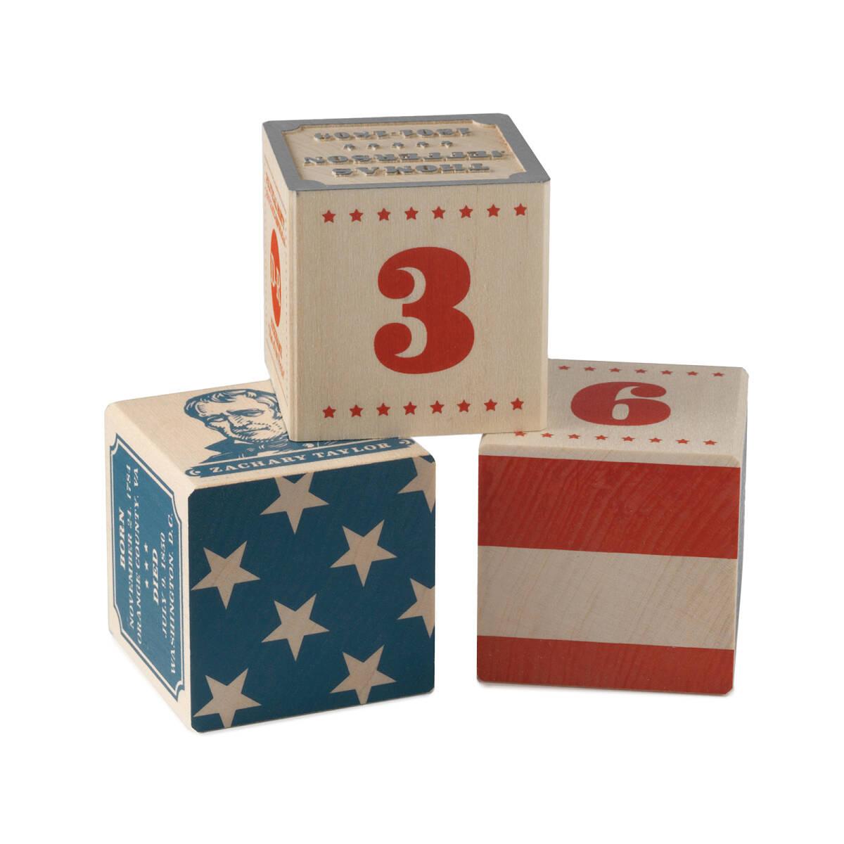President block set us presidents wooden blocks american flag president block set 2 thumbnail gamestrikefo Choice Image