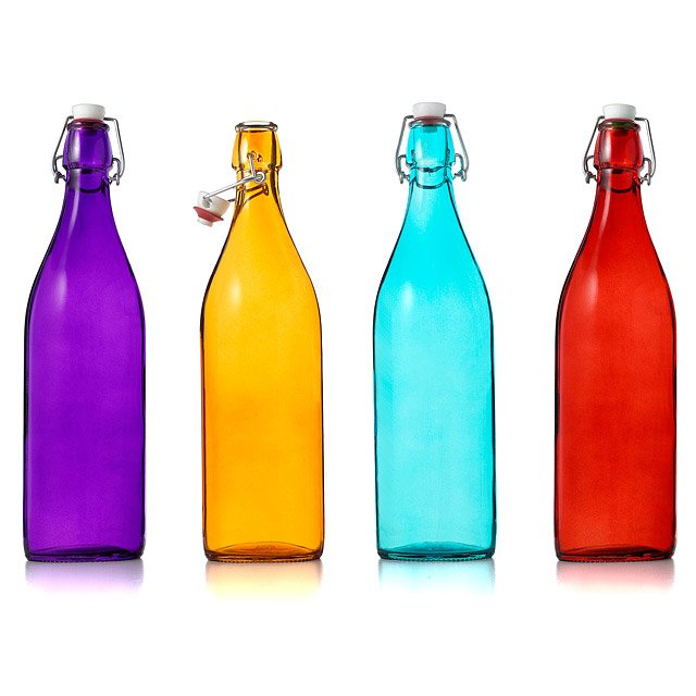 Italian Glass Bottles