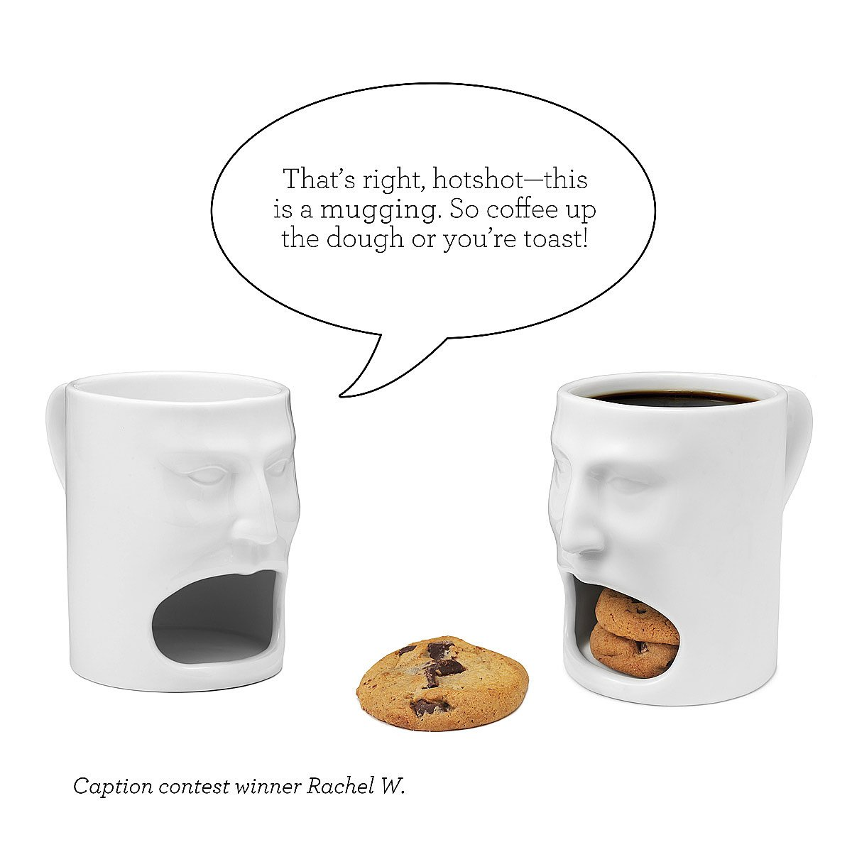 Cookie Coffee Cups Face Mug Cookie Mug Funny Coffee Cup Uncommongoods