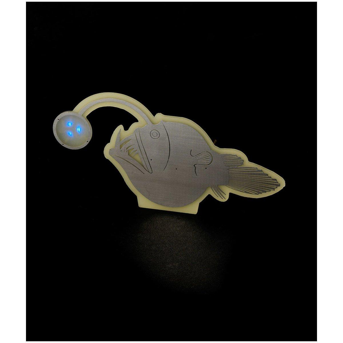 Deep-Sea Anglerfish Light | Angler, Fish, Deep, Sea, Glow, In, The ... for Anglerfish Light  61obs