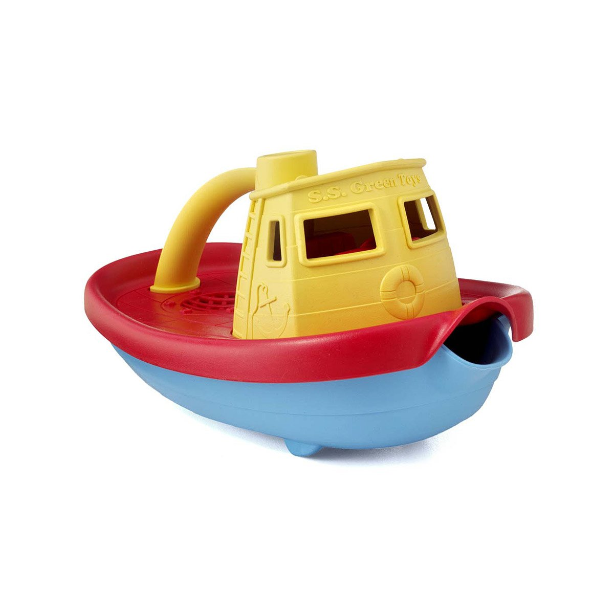 Tugboat Toy | Boat, Bath, Toy, Water, Ship, Green Toys | UncommonGoods