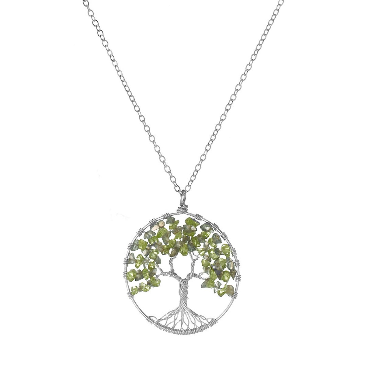 leske jewellers necklace life tree of medium s vt product