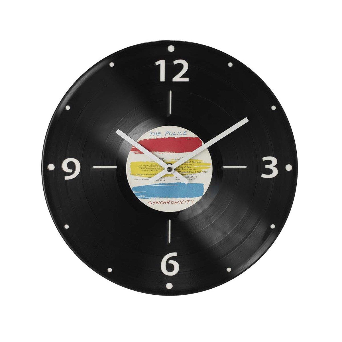 Custom record clock vinyl timepiece wall art lp album custom record clock 1 thumbnail ccuart Choice Image