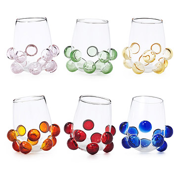 Jazzino Glasses - Set of 6