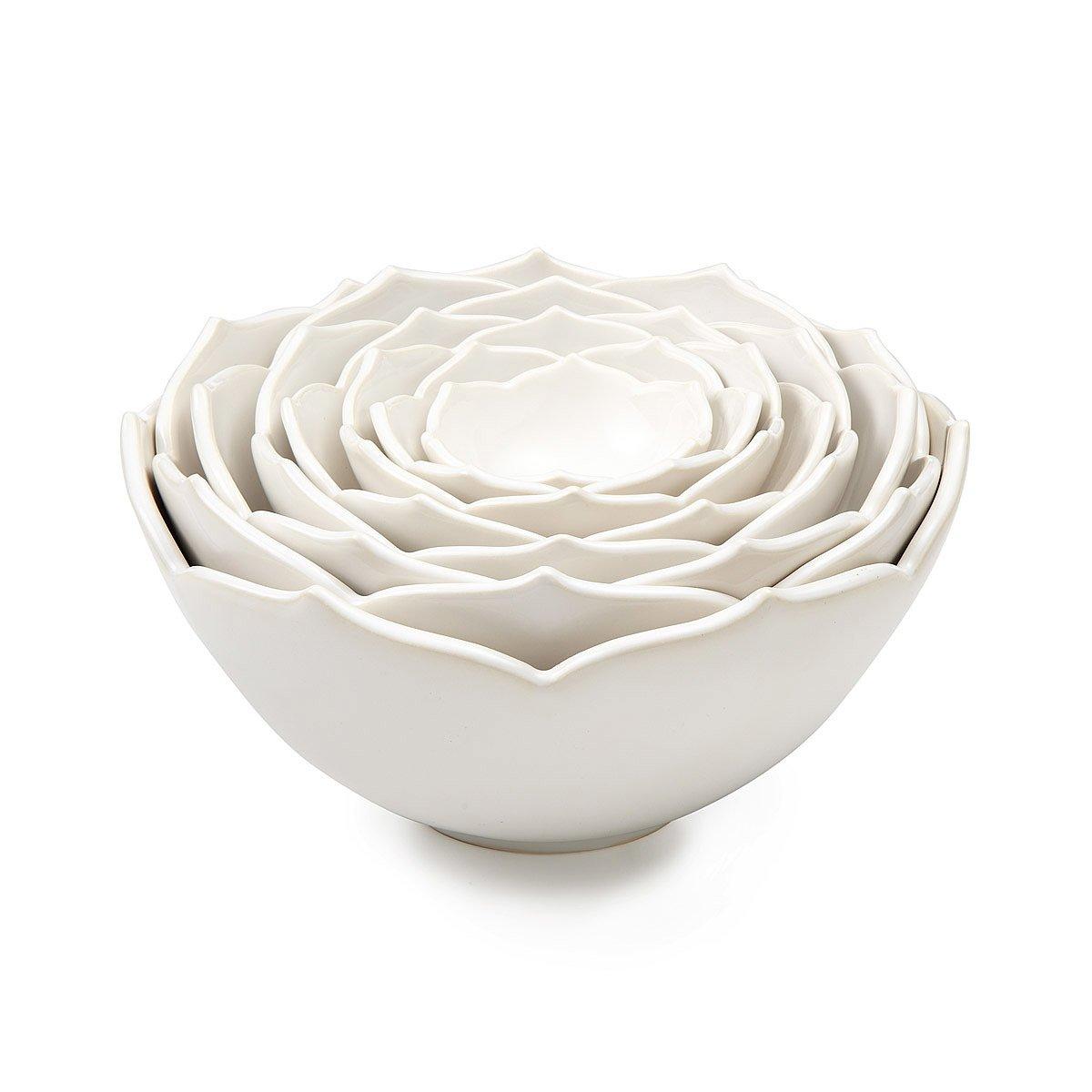 Nesting lotus bowls whitney smith ceramic flower uncommongoods nesting lotus bowls 1 thumbnail izmirmasajfo