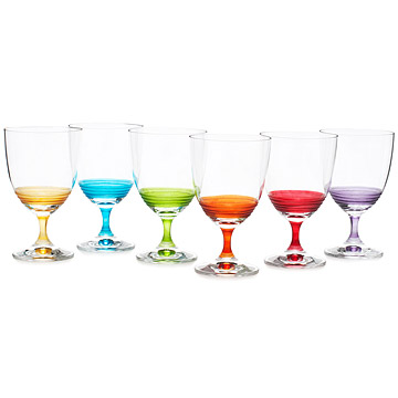 Day Wine Glasses - Set of 6