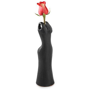 Little Black Dress Vase