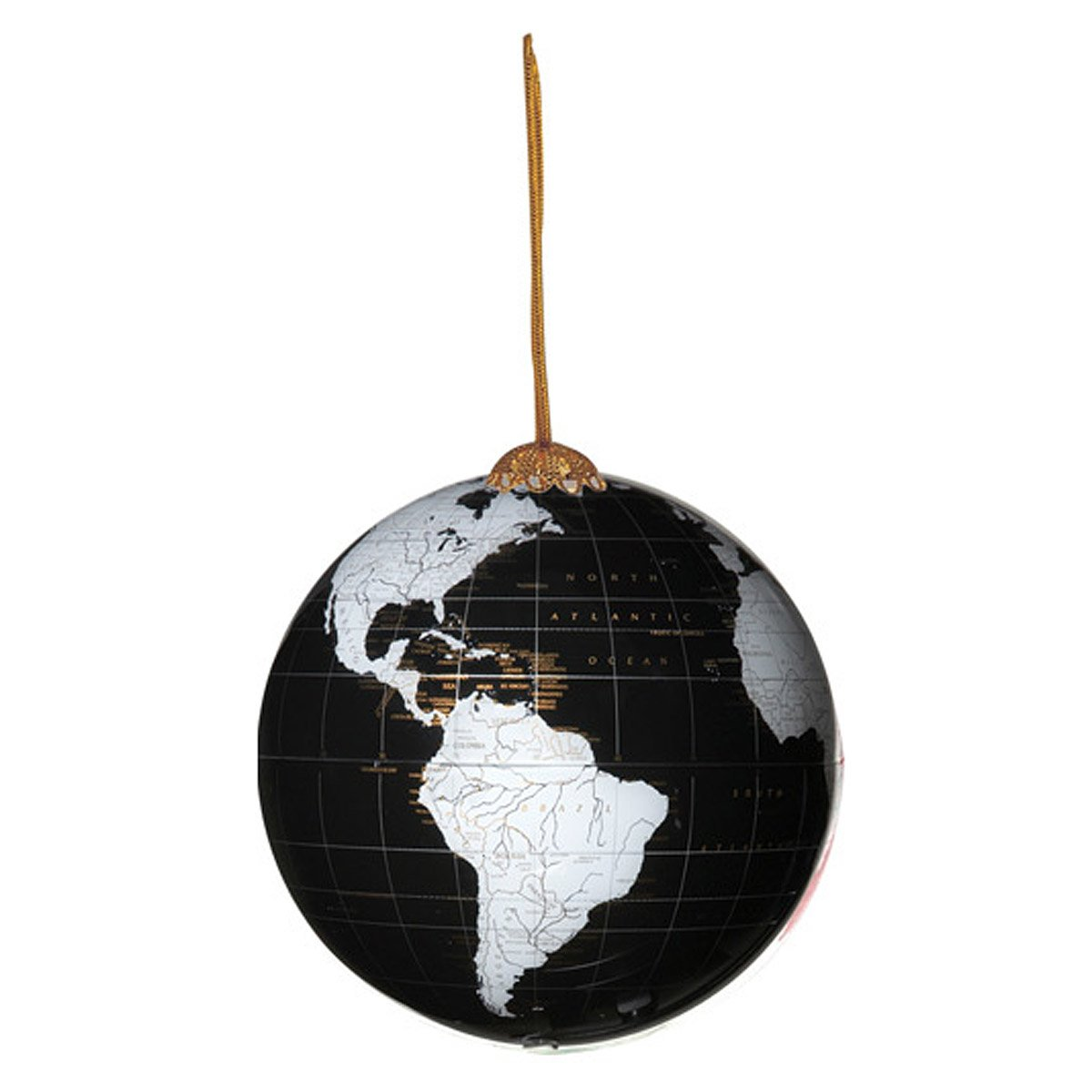 World globe christmas ornaments - Globe Ornament 1 Thumbnail