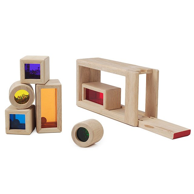 Rainbow Sound Blocks Childrens Game Toddler Toy Music Building