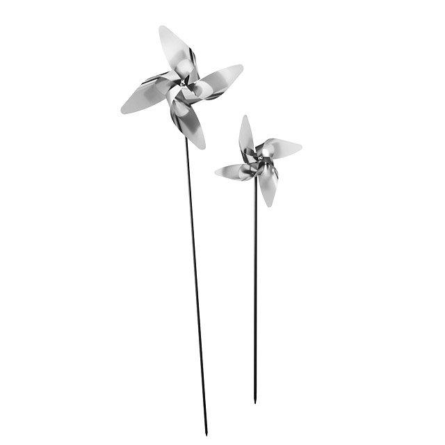 Charmant 3D Garden Pinwheels