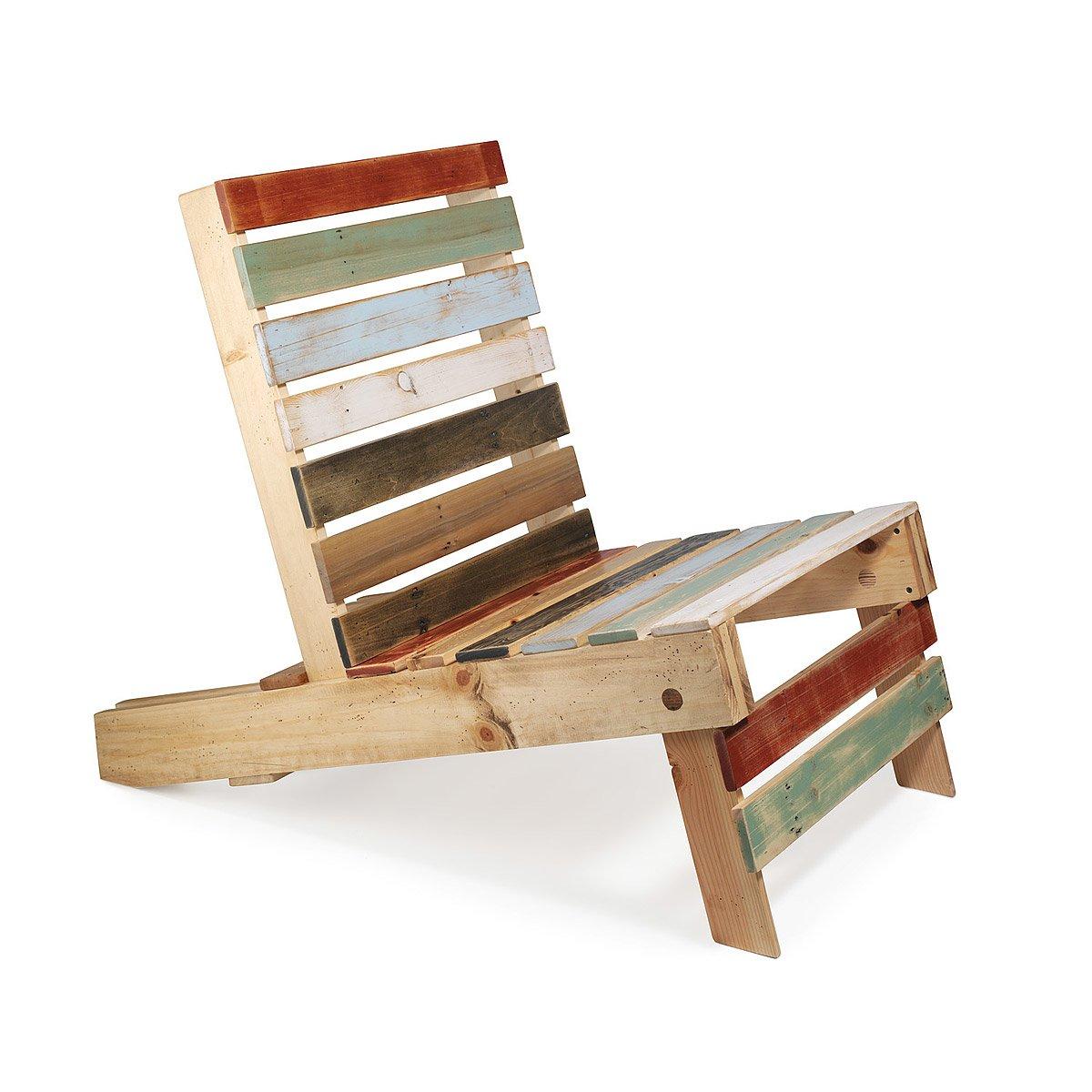 Pallet armchair - Magnetic Pallet Chair 1 Thumbnail