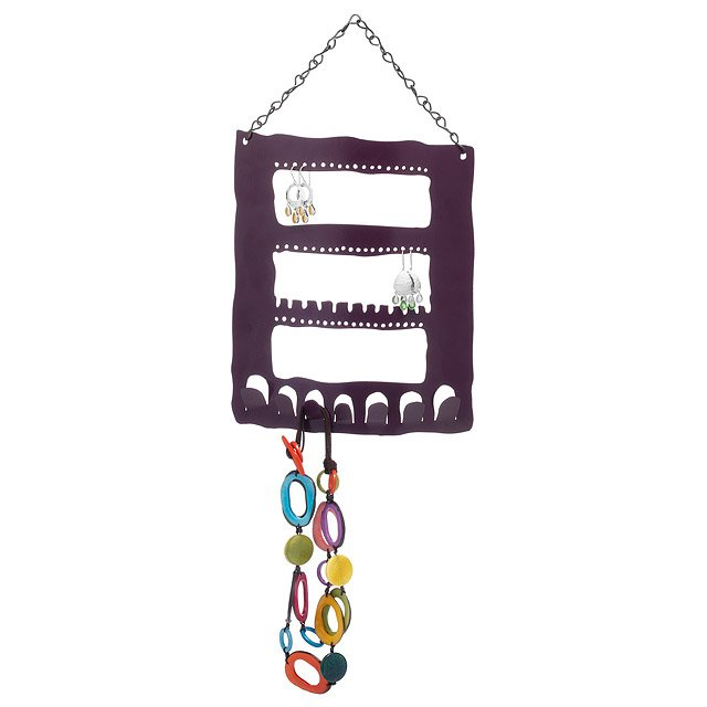 Recycled Metal Jewelry Hanger - Small