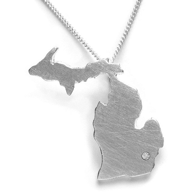Custom State Necklaces 4