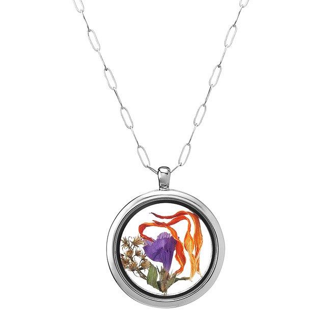 Wonderful Glass Memory Locket | Keepsake, Sterling Silver, Glass | UncommonGoods XT57