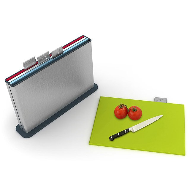 Stainless Steel Index Cutting Board