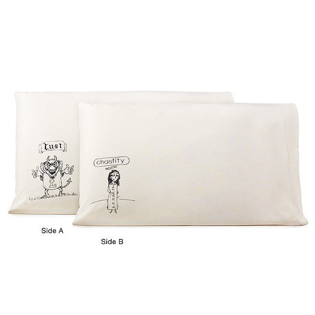 Lust and Chastity Pillowcases