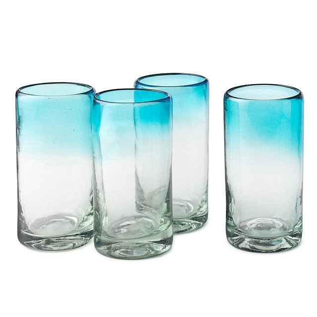 Ombre Water Glasses