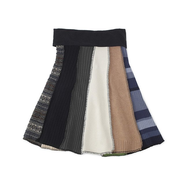 Recycled Sweater Skirt