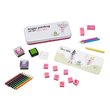 Fingerprint Art Set - Fairy Tales