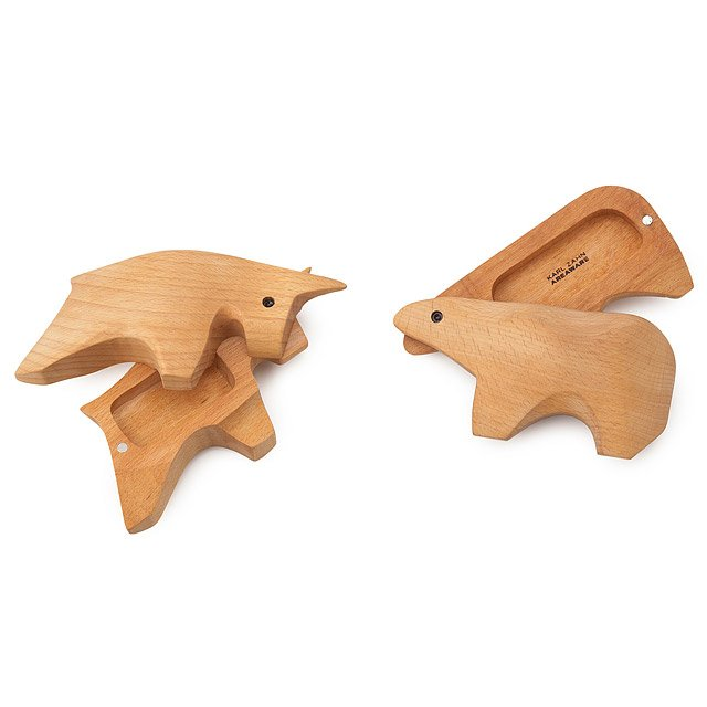 Bull and Bear Wooden Boxes 2