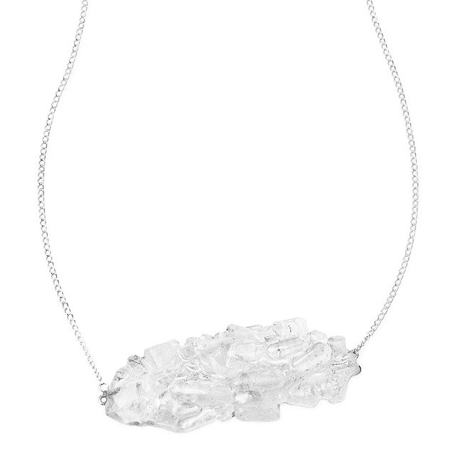 Crystallized Sugar Necklace