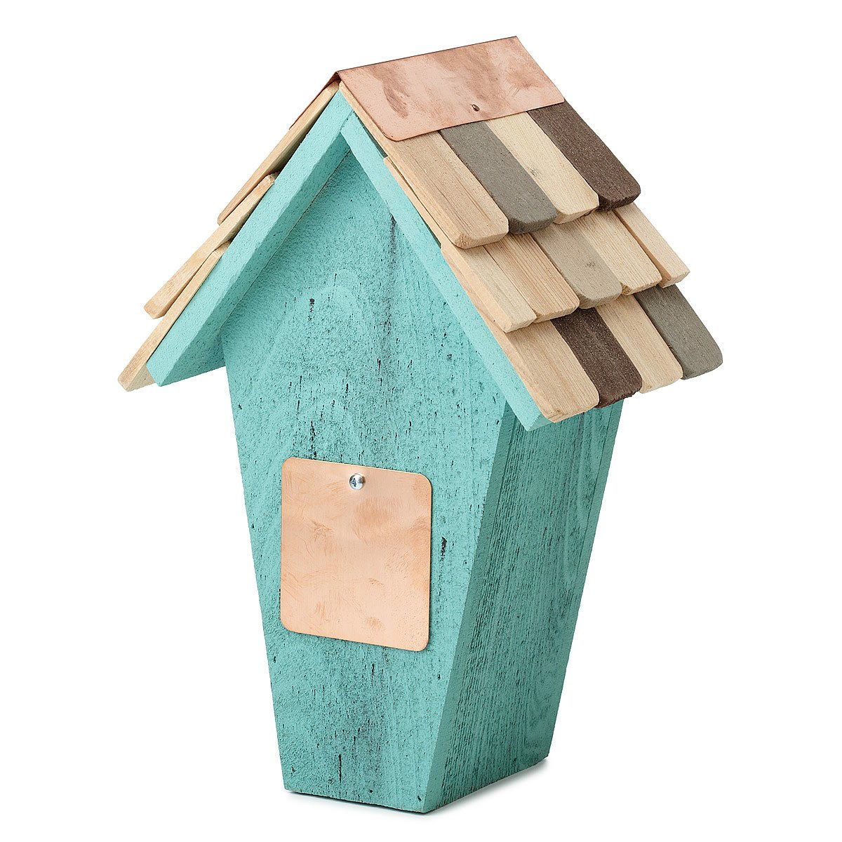 Butterfly lawn ornaments - Wooden Butterfly House 2 Thumbnail