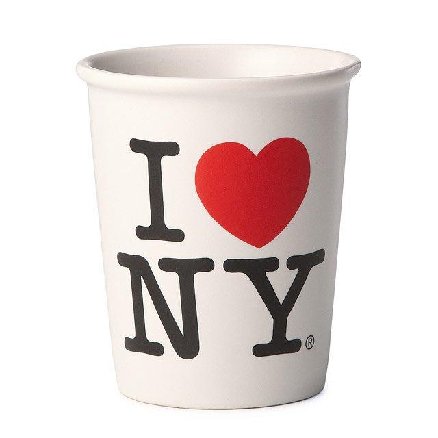 Iloveny Cup Coffee Mug Tea Cup New York City Manhattan Ceramic