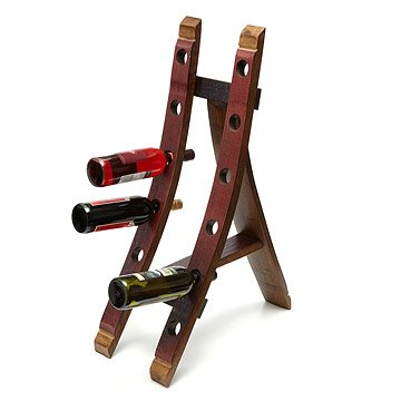 Wine Barrel Wine Holder