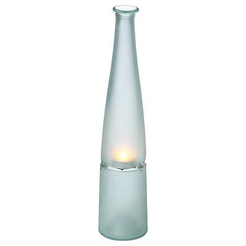Recycled Bottle Hurricane Lamp