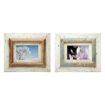 Repurposed Layered Wood Frames