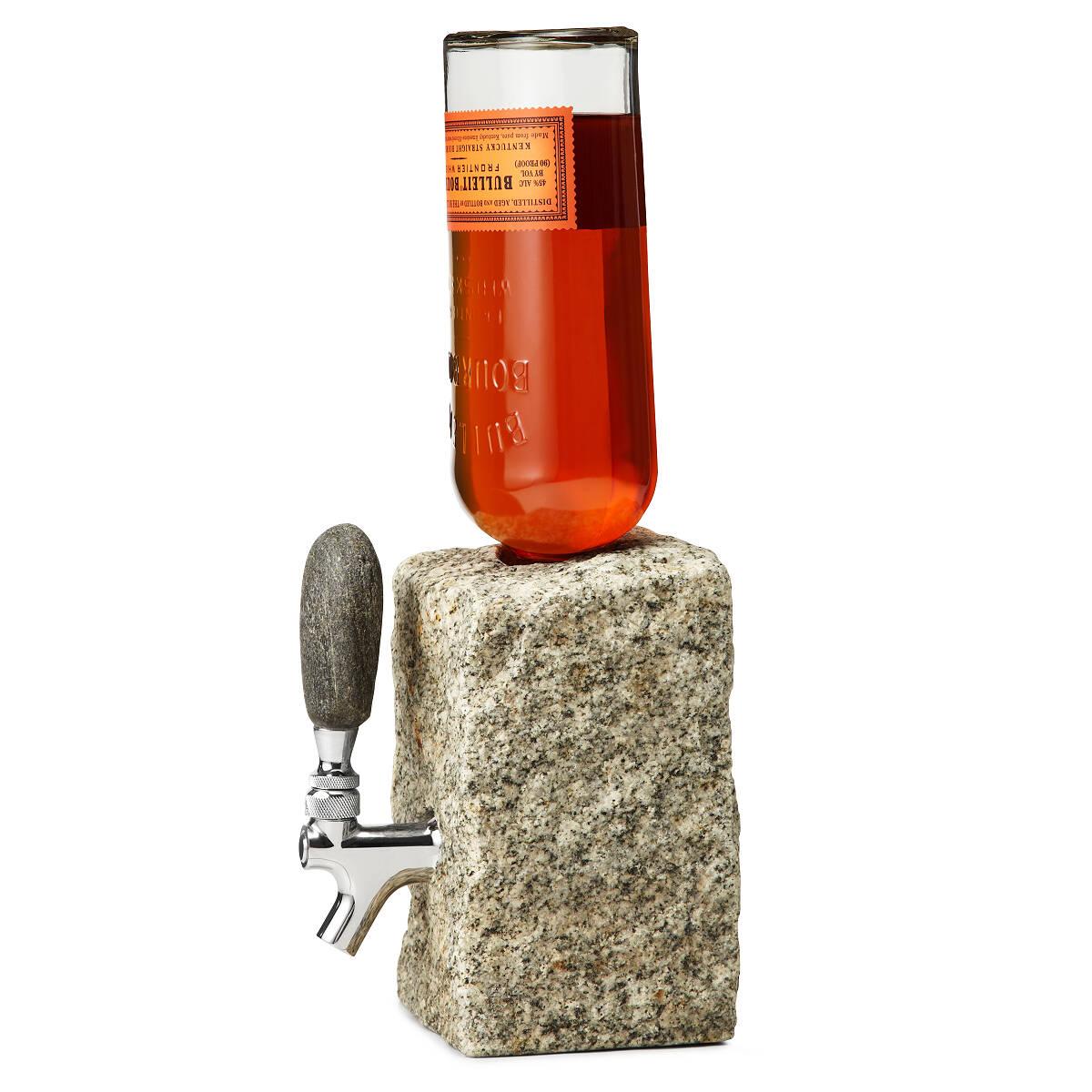 Stone Drink Dispenser | liquor dispenser, shots, on tap, granite ...