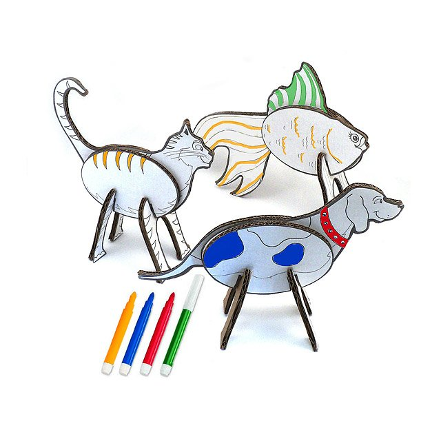 Coloring Topozoo Household Pets