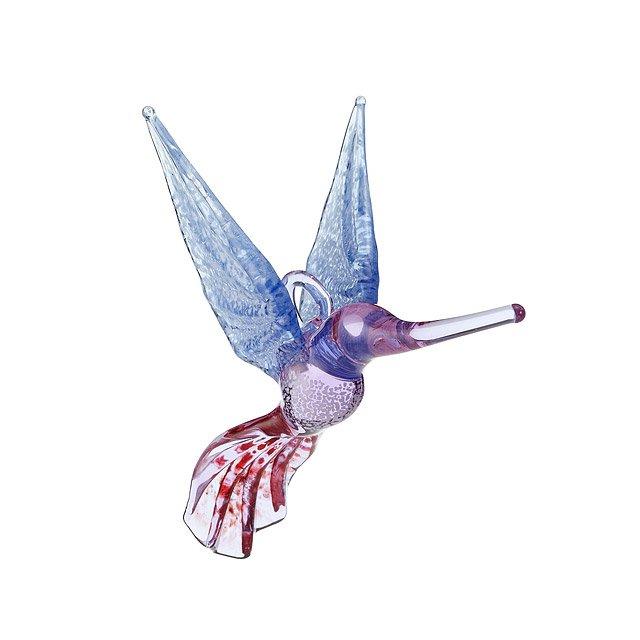 Handblown Glass Hummingbird Ornament | Handmade Glass, Christmas ...