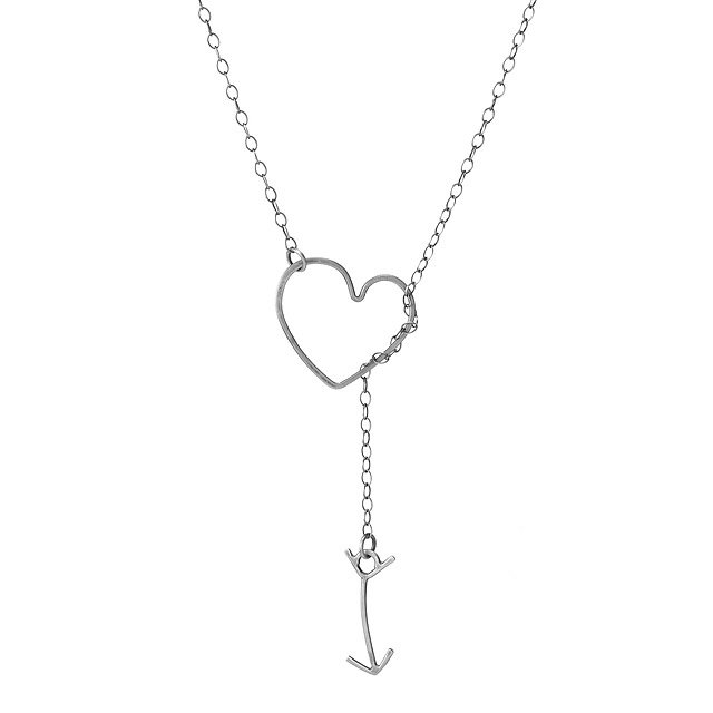 Heart and Arrow Lariat