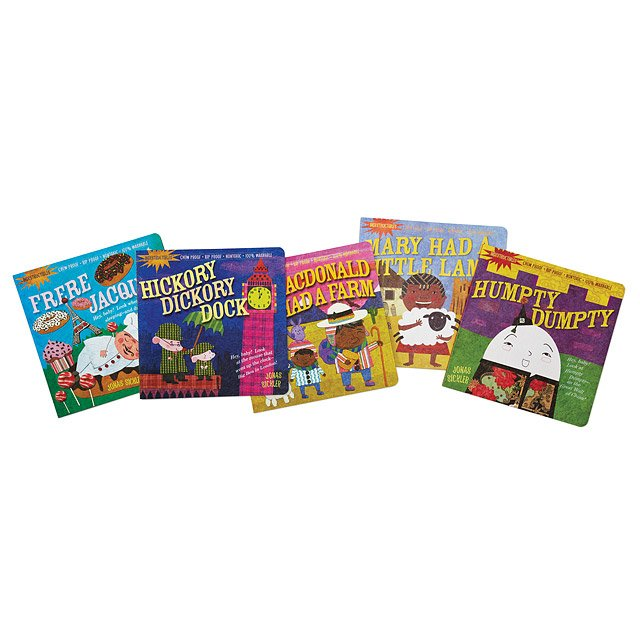 Indestructible Nursery Rhyme Book Set