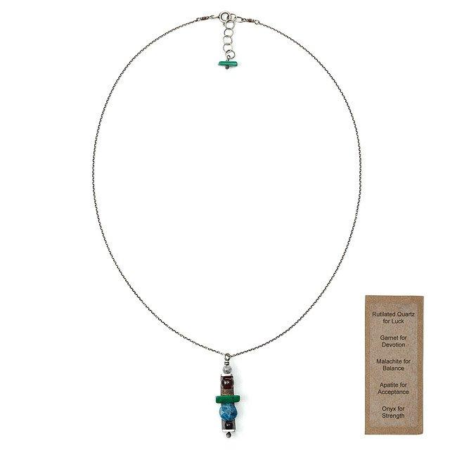 e951b06189861 Custom Totem Necklace | totem, handmade, symbols, ana noel, sterling ...