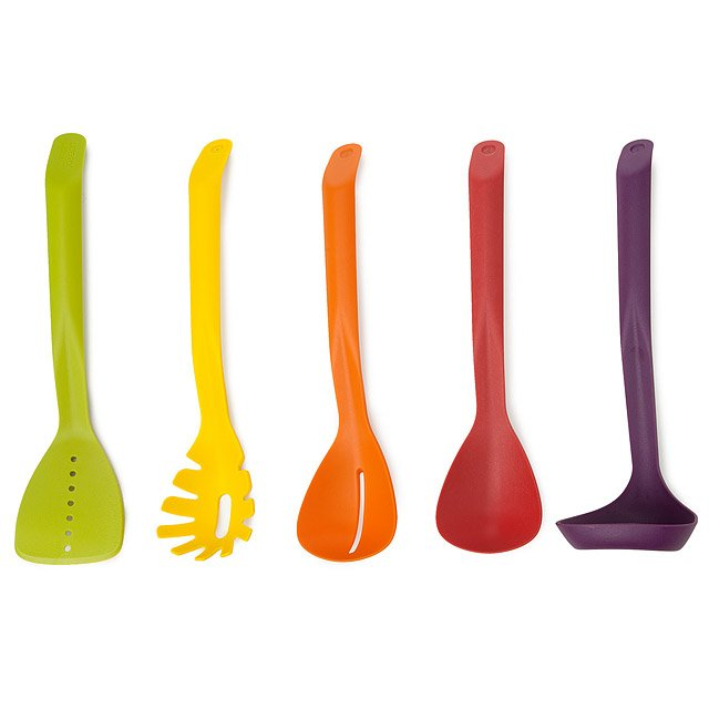Magnetic Nesting Utensils - Set of 5