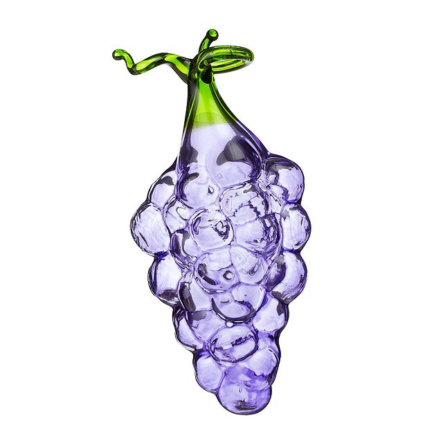 Grape Glass Ornament