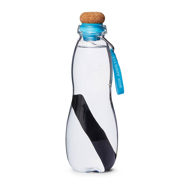 Eau Good Glass Water Bottle with Charcoal Filter