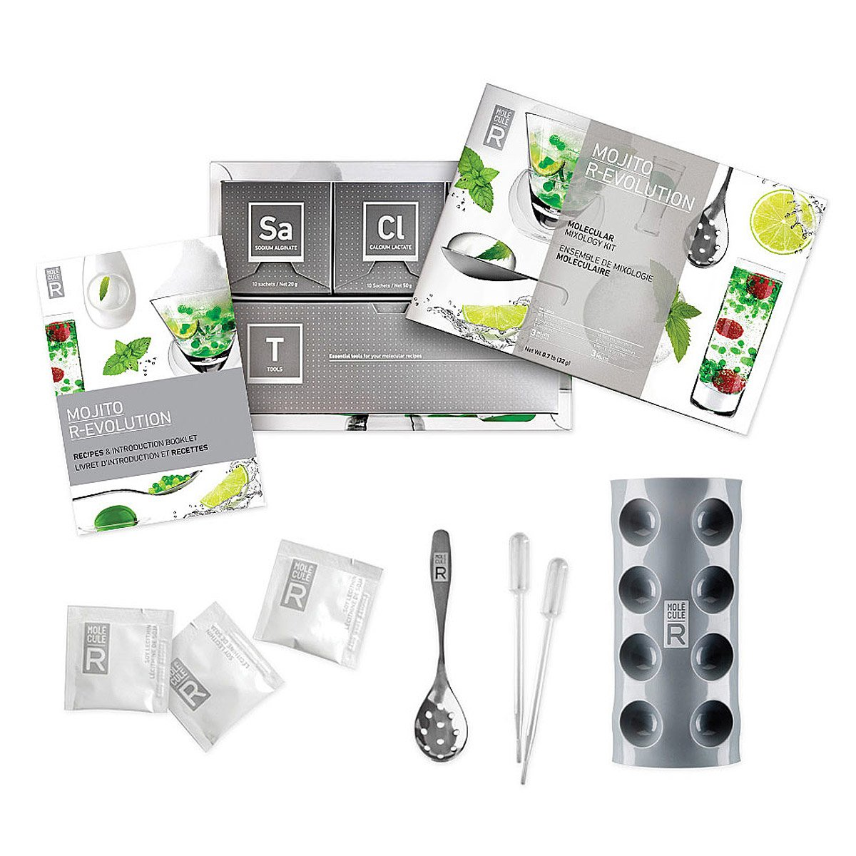molecular mixology kit - mojito set | modernist cuisine