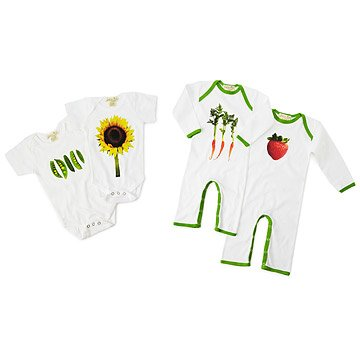 Farmer's Market Babysuit Collection