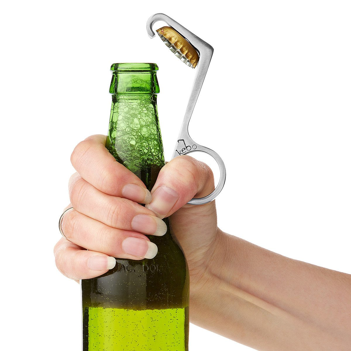 onehanded bottle opener 1 thumbnail - Key Bottle Opener