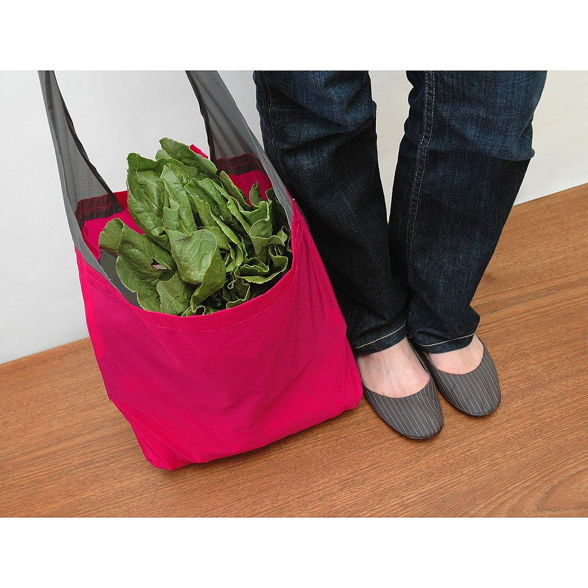 Flip & Tumble Reusable Shopping Bags | reusable grocery bag, nylon ...