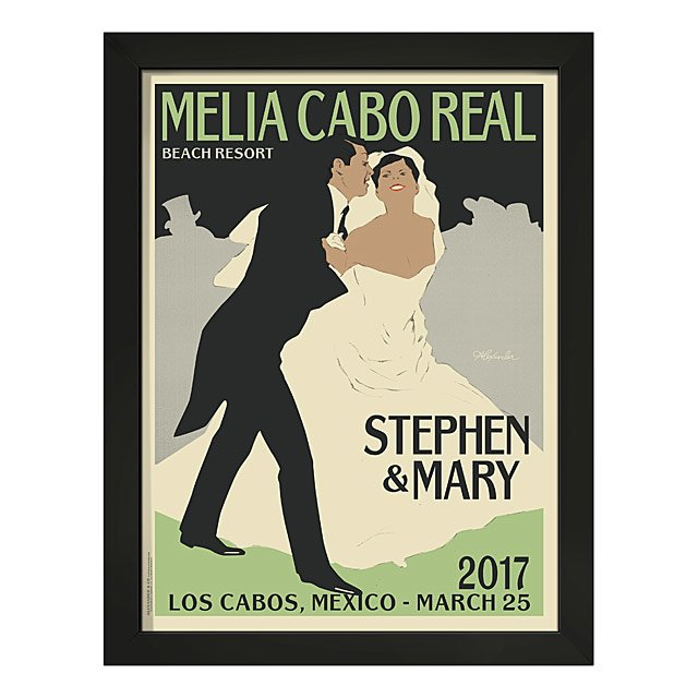 Down The Aisle Personalized Art