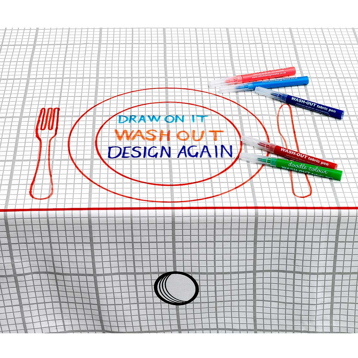 Awesome Doodle Tablecloth 3 Thumbnail