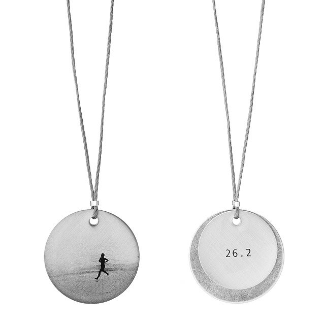 Two-Piece Marathon Pendant Necklace